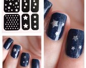 Assorted Star Nail Stencils
