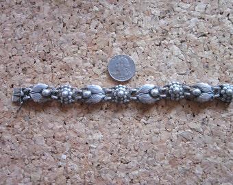 George Jensen Linked Silver Bracelet