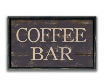 Handmade Wood Coffee Bar Sign Business signs Coffee shop signs bakery signs custom signs Coffee lover's gifts Kitchen signs kitchen wall art