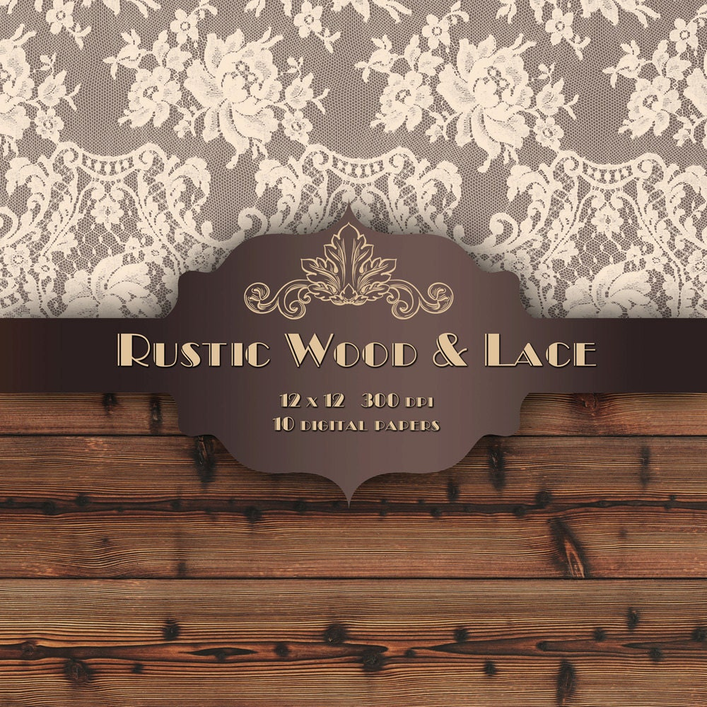 Vintage Rustic Wood Background With Lace Www Pixshark