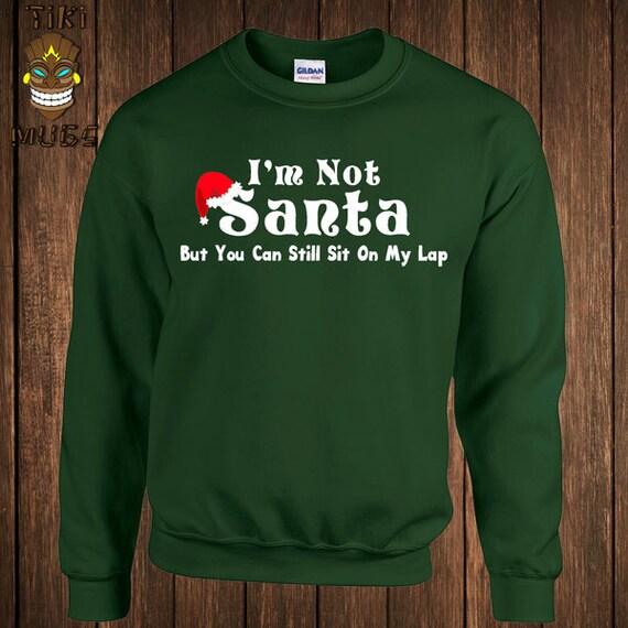 Funny Christmas Hoodie Dirty Santa Hooded Sweater Sweatshirt