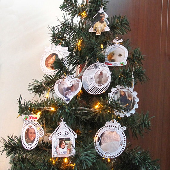 Fsl Photo Ornaments Free Standing Lace Machine Embroidery