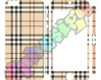 Adhesive skins 5 5s Scottish Iphone