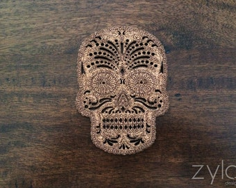 Skull Cork Coasters