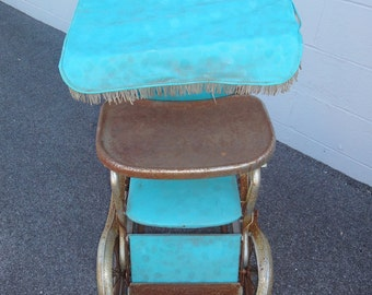 Stroll-O-Chair Dating back to early 50's late 40's/Vintage Stoller/Children Vintage/Industrial/Toys/Kids