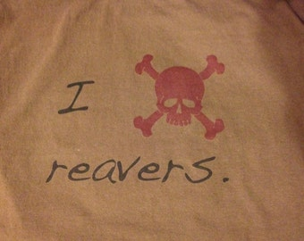 Reavers T-shirt, Serenity, Firefly, Browncoat.
