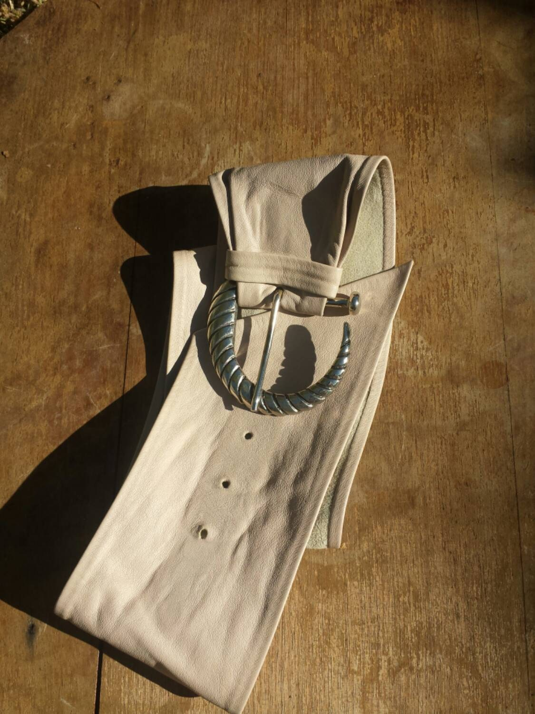 belt lovely soft leather wide sash belt with ornate