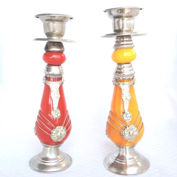 Candlestick Holders Candle Holders Moroccan Decor Home