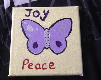 Joy Peace Butterfly