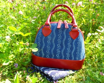 Dilians HANDPRINTED leather handbag JITKA2 A020205