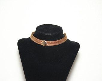 Vintage Park Lane Choker Park Lane Necklace Vintage Gold Necklace