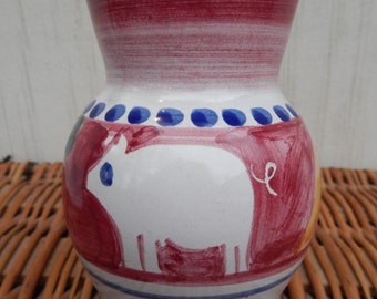 Cute Mini Vase with Pig Motif Made in Italy!