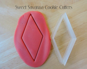 Diamond Cookie Cutters- Different Sizes Available