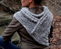 SALE! Katniss inspired handmade post apocalyptic huntress cowl vest shawl armor Pick any Color READY to SHIP