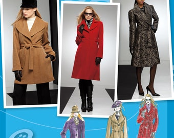 OUT of PRINT Simplicity Pattern 2311 Misses' & Miss Petite Coats