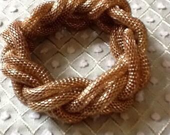 80's Mesh Braided Rope Bracelet