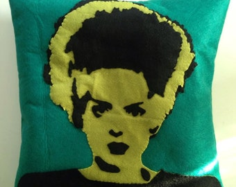 Cushion Bride of Frankenstein