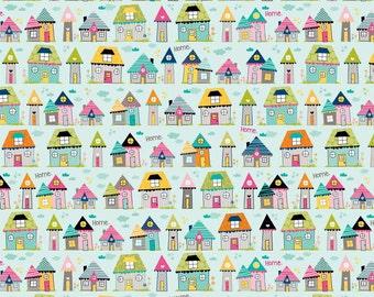 UK Shop: Snapshots Home Blue Riley Blake Cotton Fabric