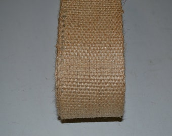 10 yards 2 inch wide No Stripe Burlap Jute Webbing for Crafts Furniture