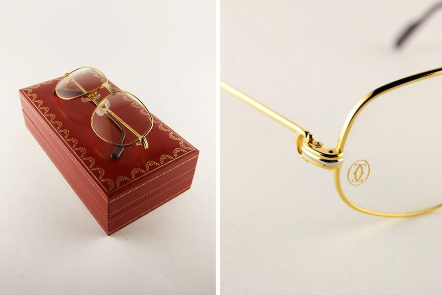 cartier vintage glasses 80 frame luxury eyeglasses