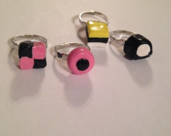 Licorice Allsorts Rings!