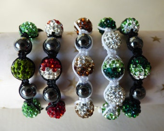 Shamballa bracelet child - Made in FRANCE