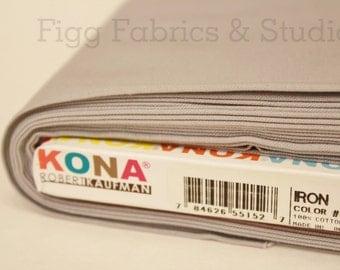 KONA Cotton in Iron (Color 408)