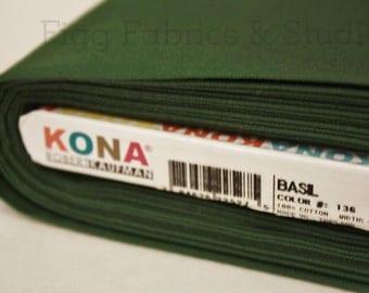 KONA Cotton in Basil (Color 136)