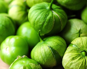 Tomatillo - Verde (100% Heirloom/Non-Hybrid/Non-GMO)
