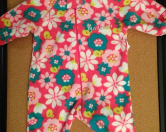 Personalized 18-24 months Flower Sleeper