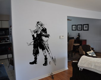 Final Fantasy 10 Inspired Tidus Wall Decal