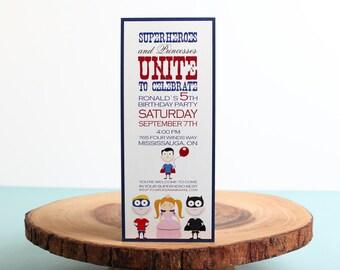 Kids Birthday Invitation- look 18