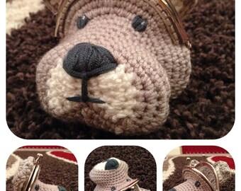 Dog Coin Purse Crochet Pattern