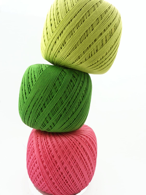 Crochet Thread Size 10 : crochet cotton thread size 10 50g x 250m 3ply by Fiscraftland