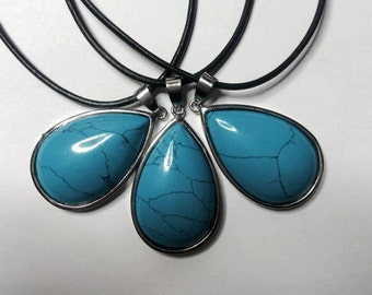 NEW - Turquoise Drop Choker