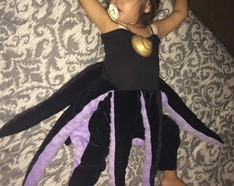 Ursula inspired costume (Little Mermaid)