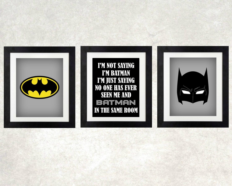Awesome Batman Wall Decor Photo   Wall Art Ideas   Dochista.info