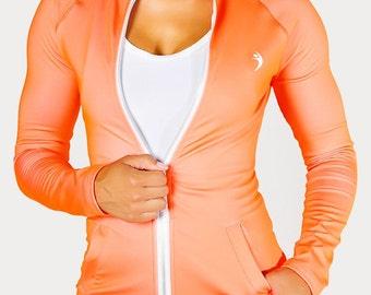 Figure Flattering Athletic Jacket