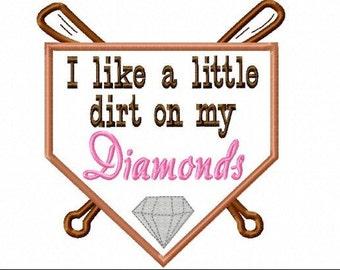 """Children's T-shirt """"Dirt and Diamonds"""""""