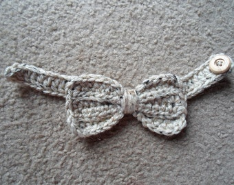 READY TO SHIP  in 3-6 Months Textured Bow-Tie.