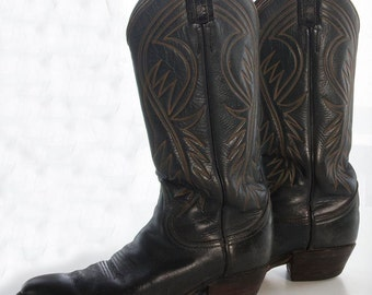 Vintage Tony Lama Ladies Cowboy Boots