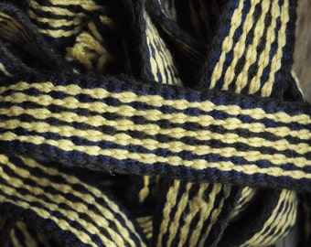 Inkle Woven Braid (Belt, Trim) for Medieval Reenactors, Medieval Clothing, Early Medieval Decoration, Historical Clothing