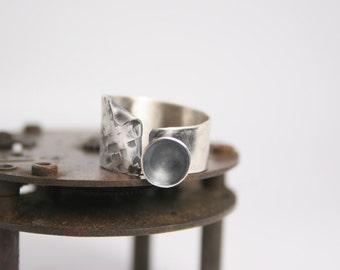 Sterling Silver Ring - Modern