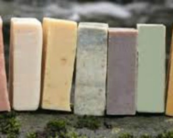 Buld Your own Soap Bars - Your own loaf-9 bars per loaf 25.00 Pick a scent, additives and color