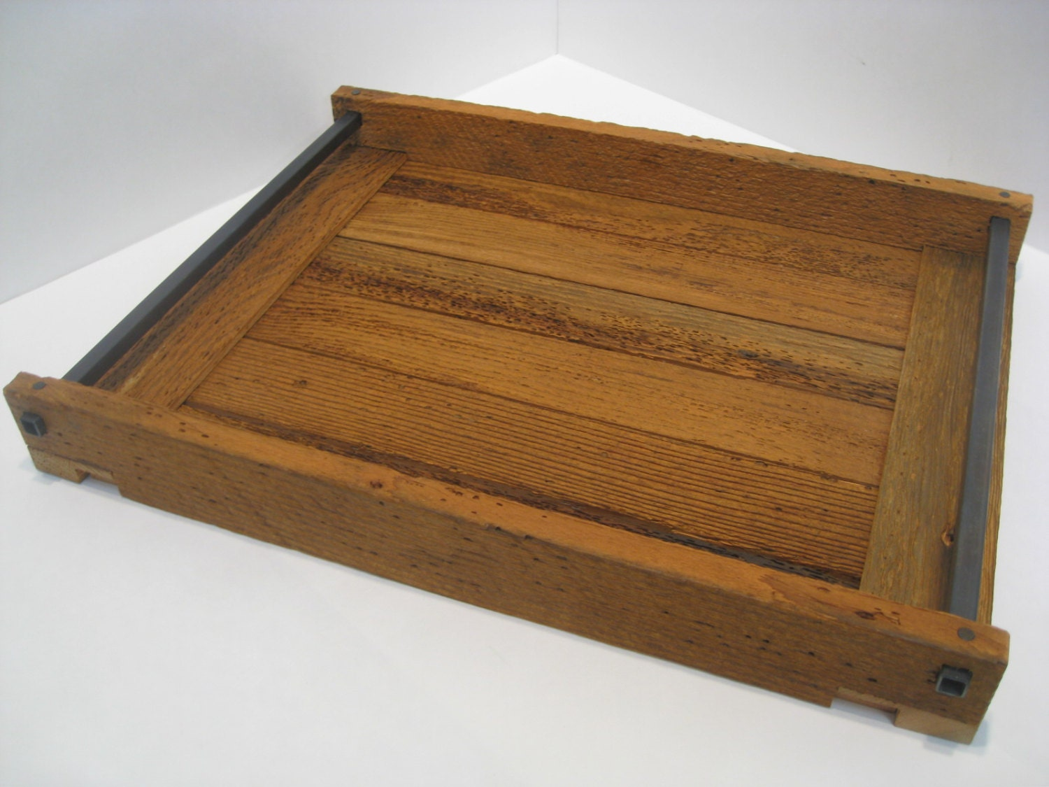 Wonderful image of Serving Tray / Ottoman Tray / Wood Serving Tray by recovereddesign with #8F6130 color and 1500x1125 pixels