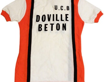 70's vintage cycle jersey made in France