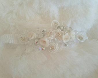 Baby crystal tiara