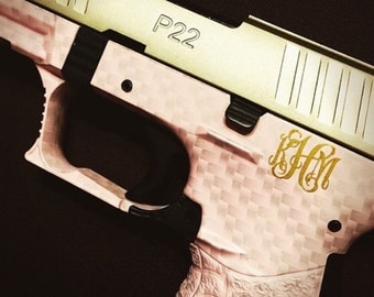 Fancy Monogram for Gun