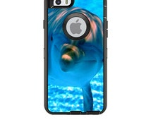 Skin Decal Wrap for OtterBox Defender / Commuter Apple iPhone 6 6 Plus 5C 5/5S 4 Case Vinyl Cover Sticker Skins Dolphin