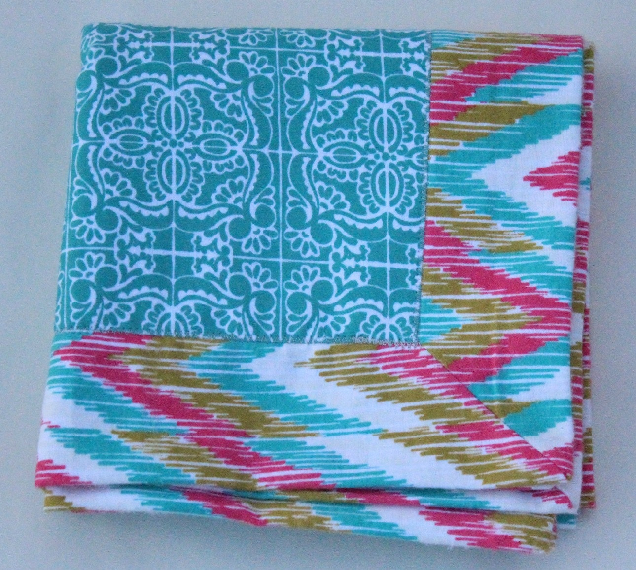 Last one unisex baby flannel blanket tribal pattern for Unisex baby fabric